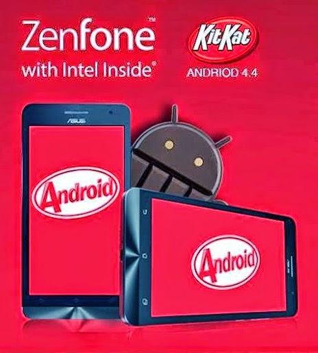 Cara Upgrade KitKat 4.4 Pada Asus Zenfone 4, 5, 6 Terbaru!