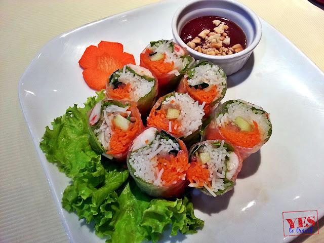 Goi Cuon - Vietnamese fresh spring rolls