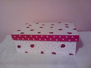 caja tipo de zapato 31x21