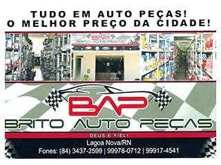 BRITO AUTO PEÇAS- LAGOA NOVA