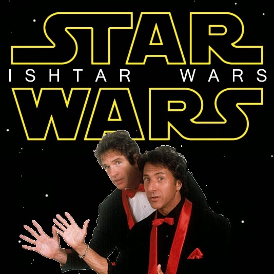 Star Wars Ishtar Wars movie poster parody