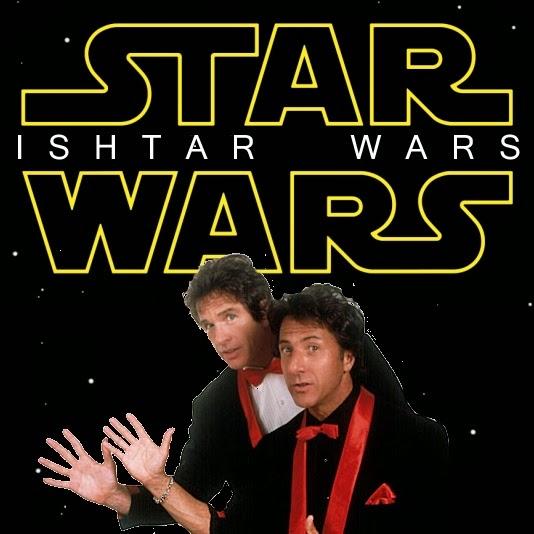Star Wars Ishtar Wars movie poster parody