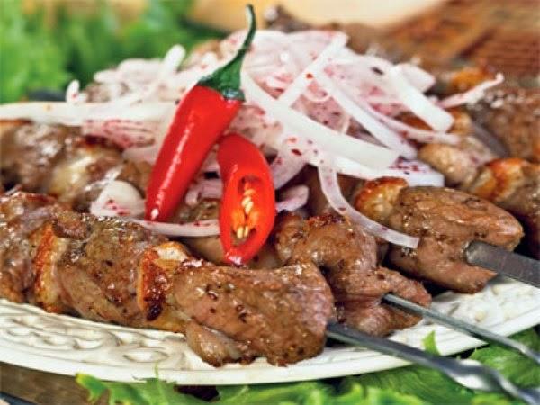 рецепт приготовления шашлыка из говядины