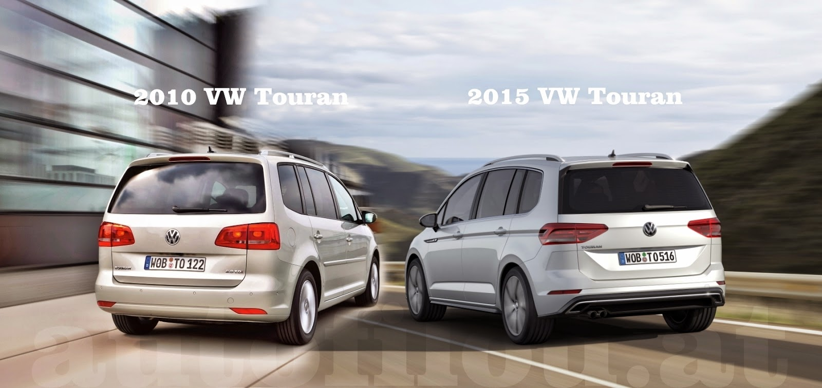 vergleich 2010 vs 2015 vw touran. Black Bedroom Furniture Sets. Home Design Ideas