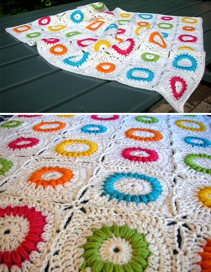 Mille's puffed rings - Free Pattern