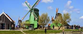 Zaanse Schans, Windmills in the surroundings of Amsterdam
