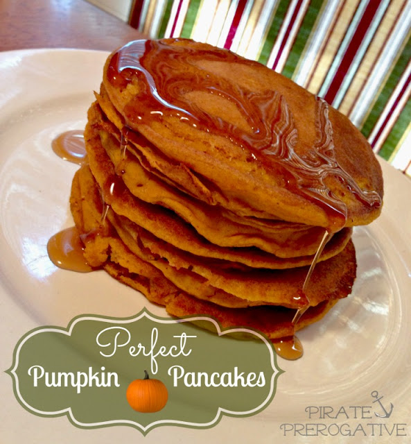 Easy made from scratch vegan pumpkin pancakes. Perfect for fall.