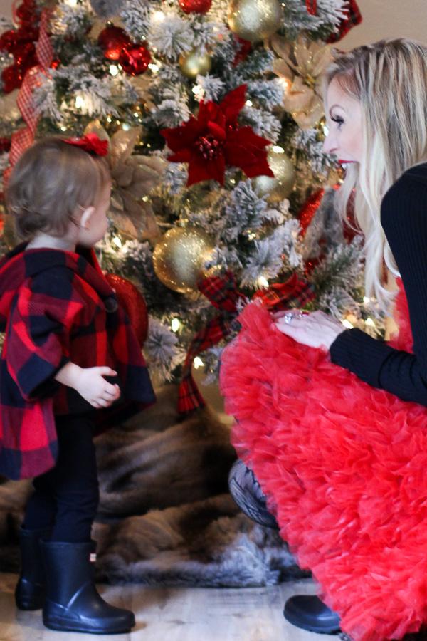 parlor girl family christmas