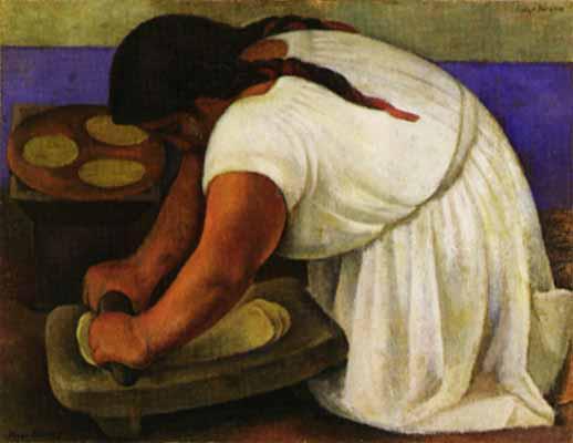 La Moledora Diego Rivera