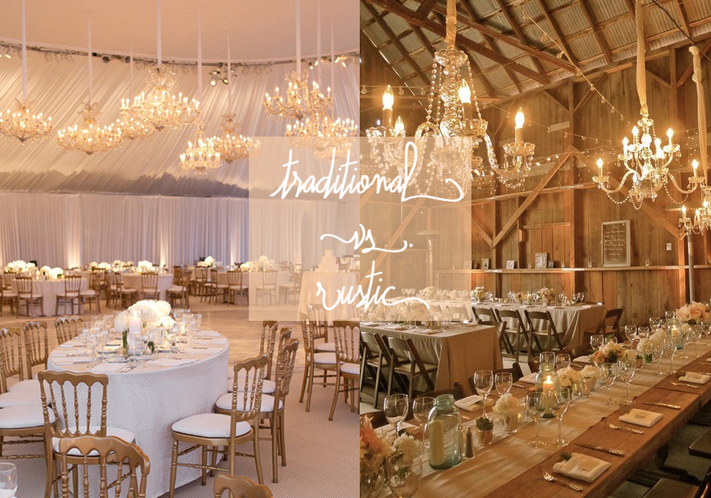 Traditional Vs Rustic Wedding Best Wedding Blog