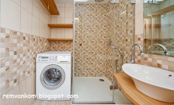 ремонт ванной комнаты фото стандартной