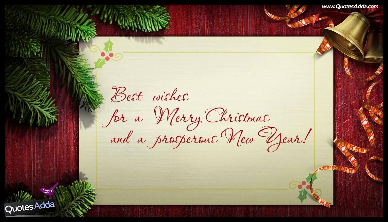 Merry Christmas Greeting Cards in English  QuotesAdda.com  Telugu Quotes  ...