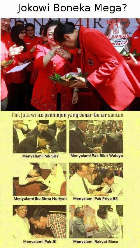 Akhlak dan Kesopanan Jokowi