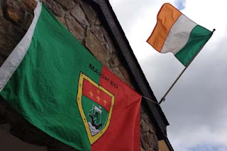 Up Mayo - Watching the All Ireland in Jersey Shore (Photo: Jim Lowry)