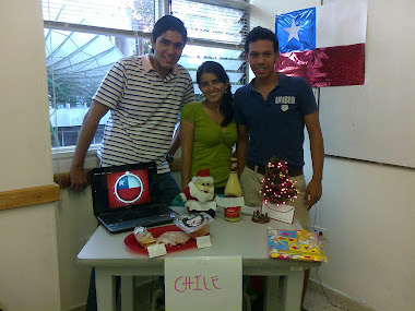CHRISTMAS (Chilean stand)