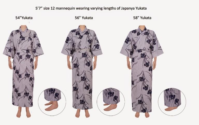 Kimono Gown Sizing