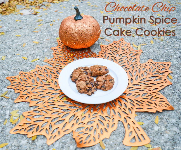 ... of pumpkin spice and chocolate? Have you ever made cake cookies