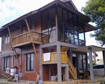 Tips Desain Rumah Kayu Minimalis