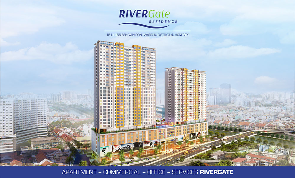 Rivier gate condo by novaland for The rivergate