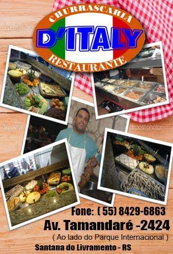 Restaurante e Churrascaria D'Italy em Santana do Livramento