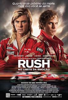 """Poster do filme """"Rush - No Limite da Emoção"""""""