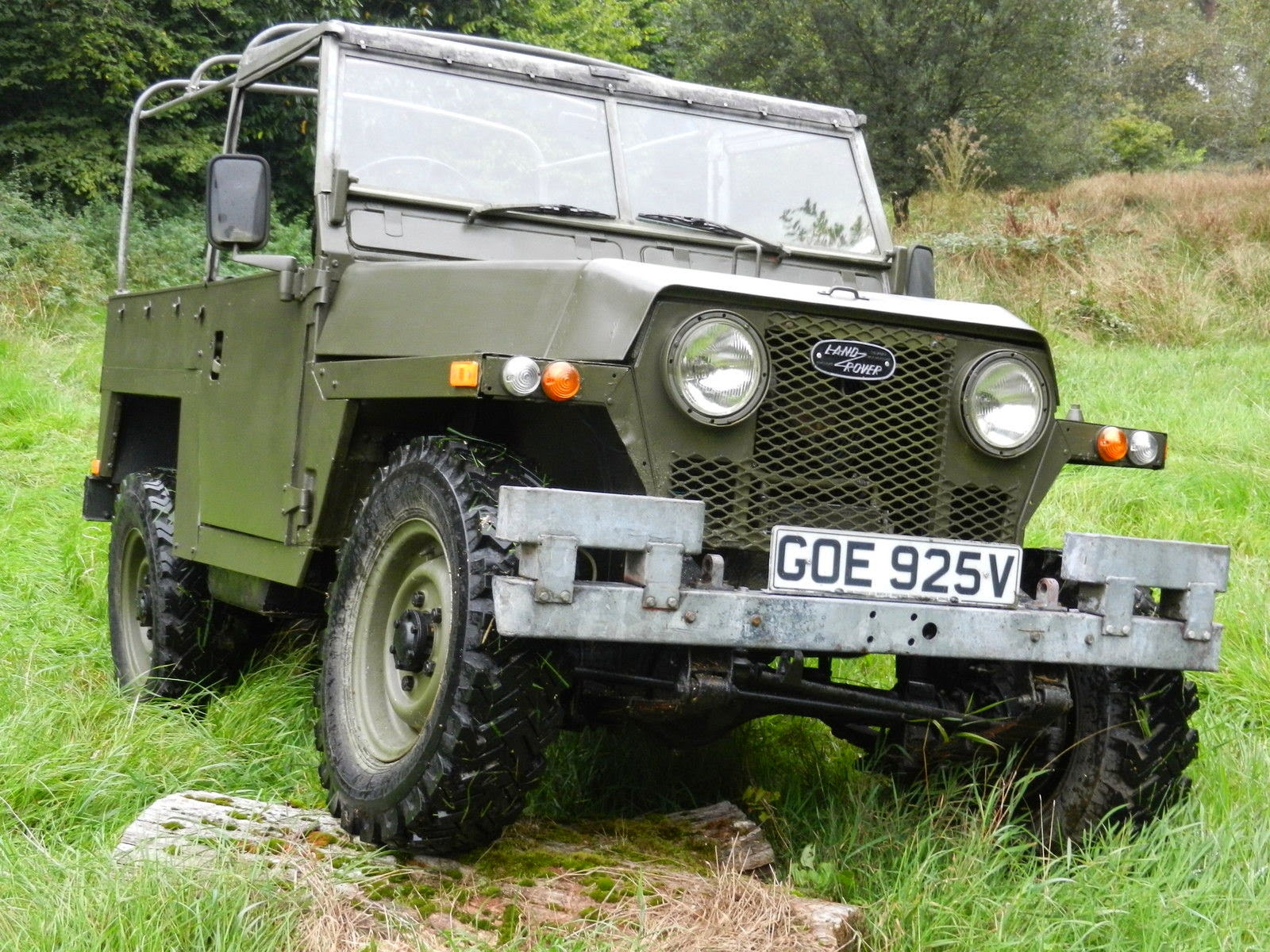 1980 Land Rover Series 3 88 Uk Military Jeep 4x4 Cars