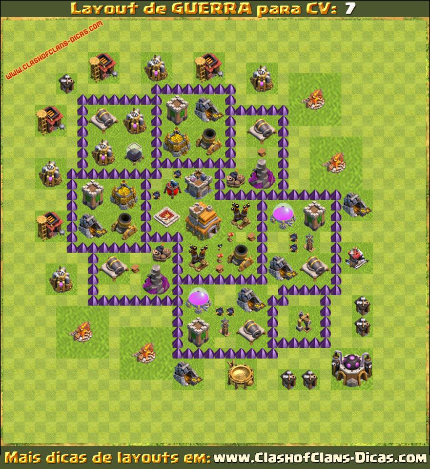 zoando n nave clash of clans layouts cv 7