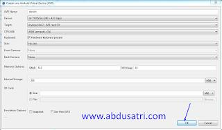 Tutorial Install Emulator di Eclipse