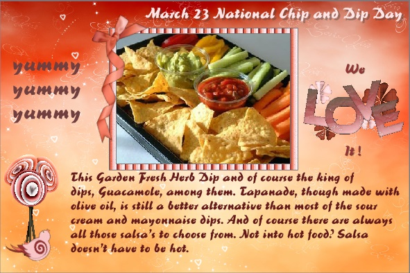 March-23-2016 National Chip and Dip Day