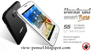 Advan Vandroid S5N SmartNote, Tablet Android 5 inchi
