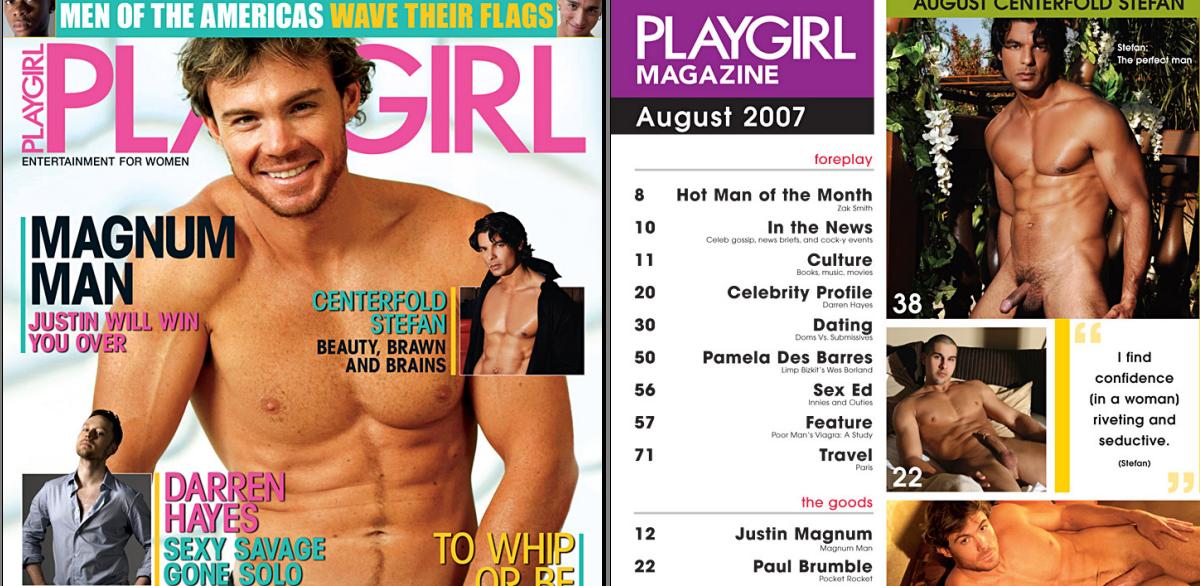 58 gratis majalah playgirl cowok telanjang