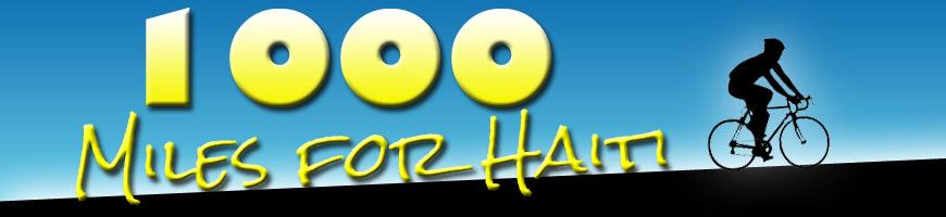 1,000 Miles for Haiti
