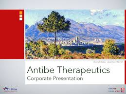 Antibe Therapeutics Corporate Presentation