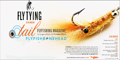 Free Fly Tying Video in Tail Fly fishing magazine issue 9 - the free digital fly fishing magazine by flyfishbonehead