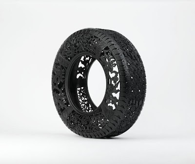Cool and Creative Hand Carved Car Tires (15) 4