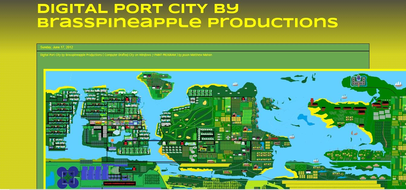 DIGITAL PORT CITY PROJECT