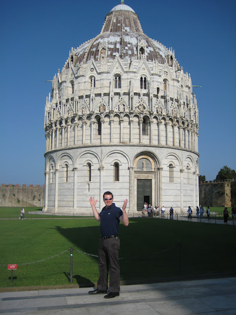 Our Honeymoon: Pisa