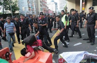 Katanya… Polis Malaysia yang bersih dan jujur