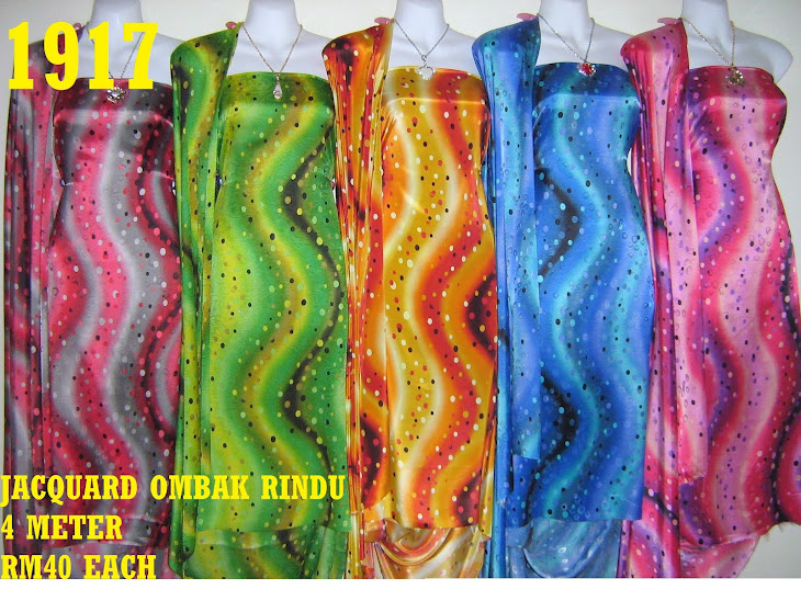 JOR 1917: JACQUARD OMBAK RINDU, 4 METER