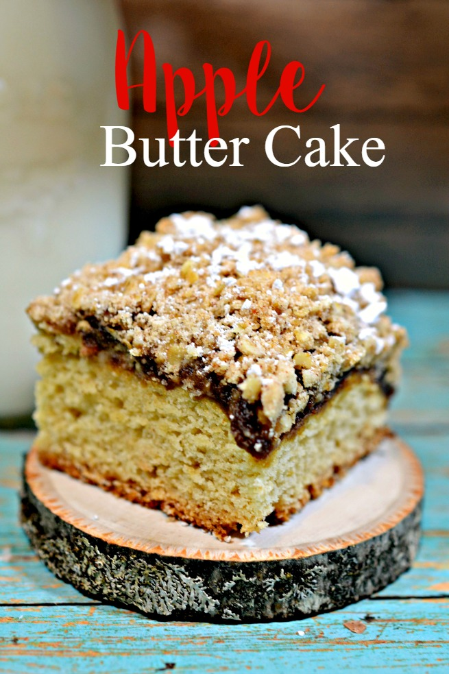 Recipe: Apple Butter Cake