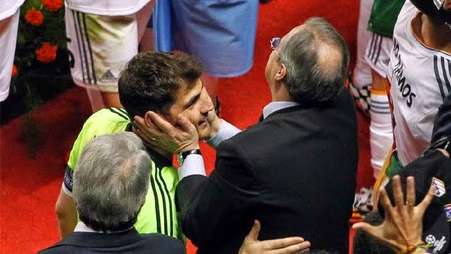 كاسياس باق في ريال مدريد بأمر الرئيس