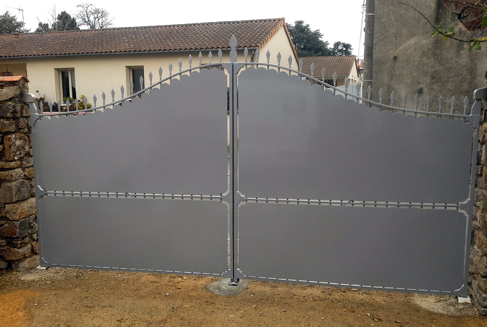 Grand Finition Peinture époxy (ral 7045) Idees