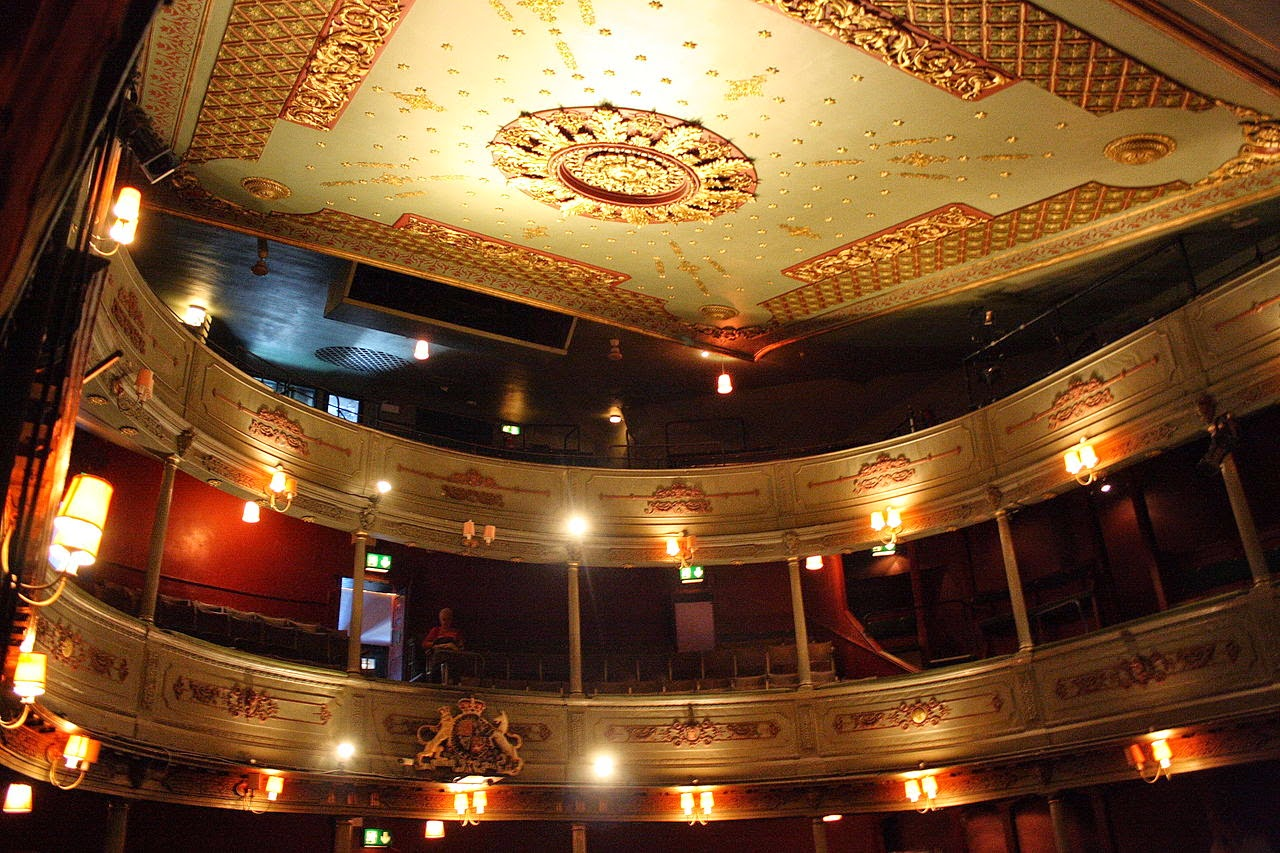 Interior of Bristol Old Vic - Flickr photo credit Rob Brewer