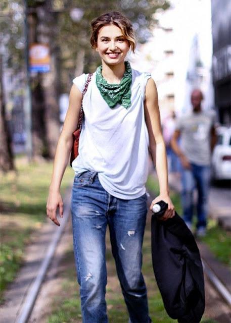 style with bandana