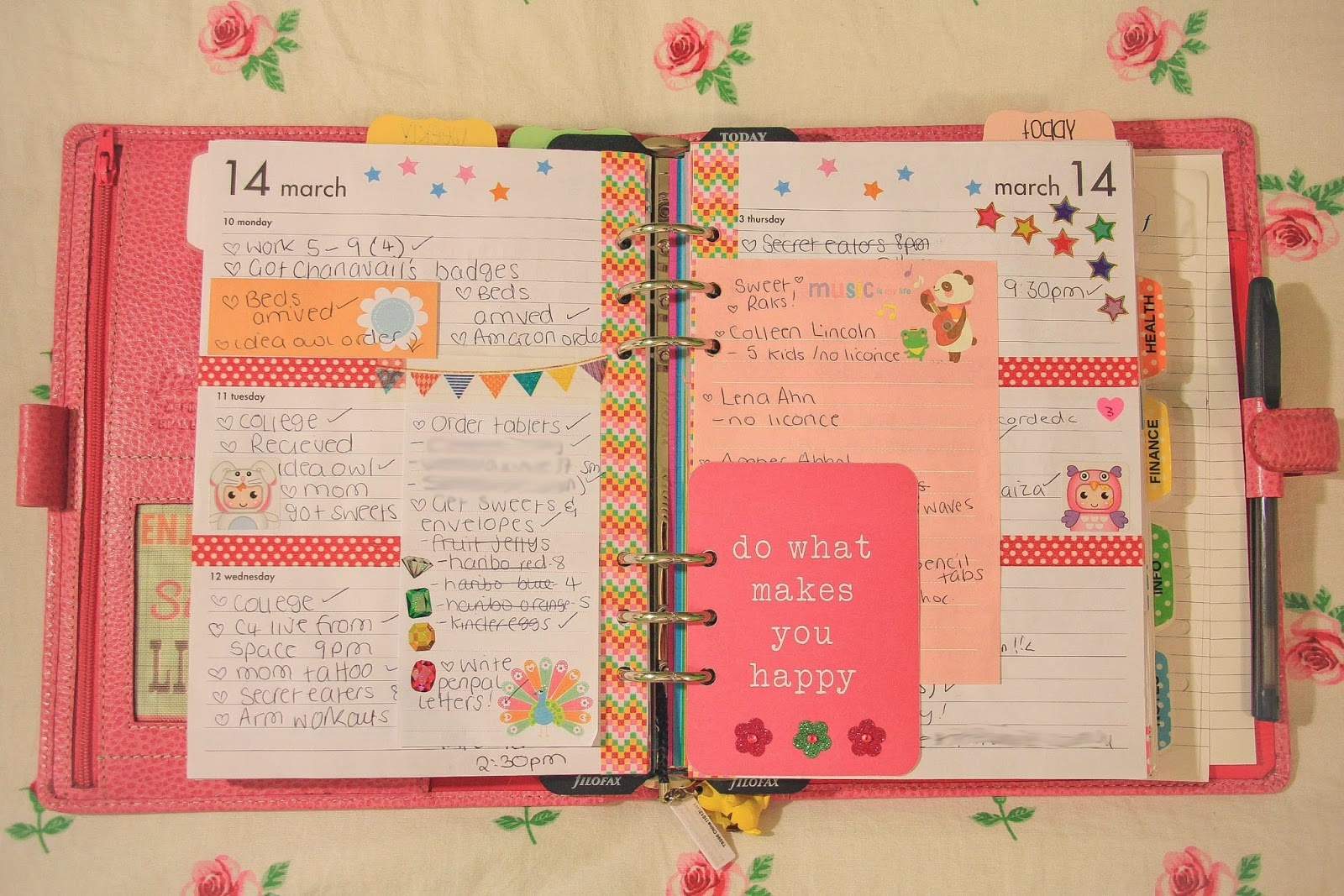 Filofax doodles and create your own on pinterest for Design my own planner