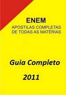 Download Apostilas Enem 2011 (Guia Completo)