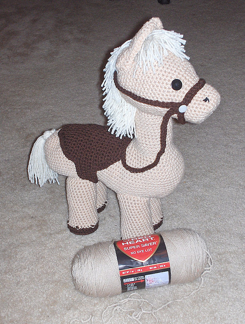 Perfect Pony crochet toy patterns