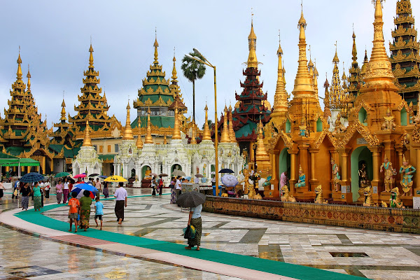 Complejo de la Pagoda Shwedagon - Rangún - Myanmar