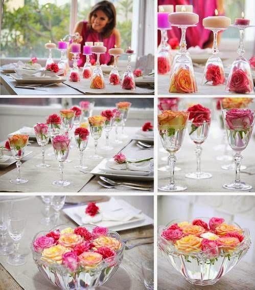 como decorar flores