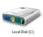 Why the partition starts with local disc C: